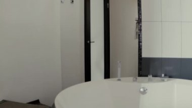 Bathroom White Slow Motion