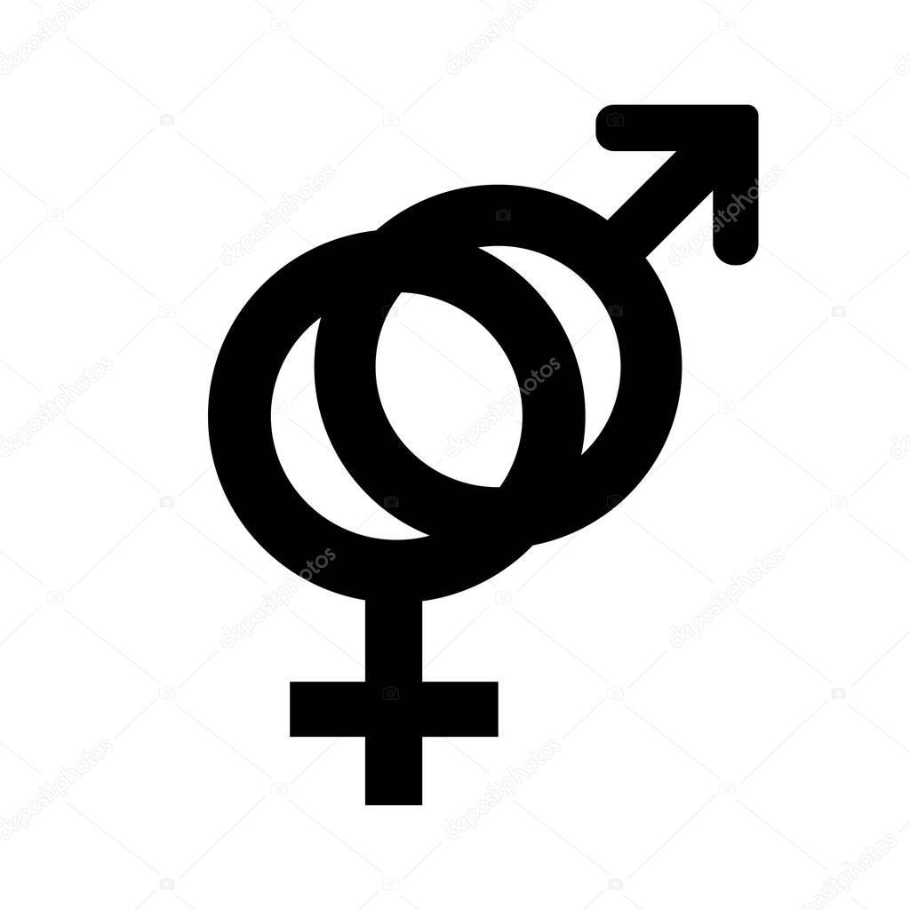 man och kvinna symbol