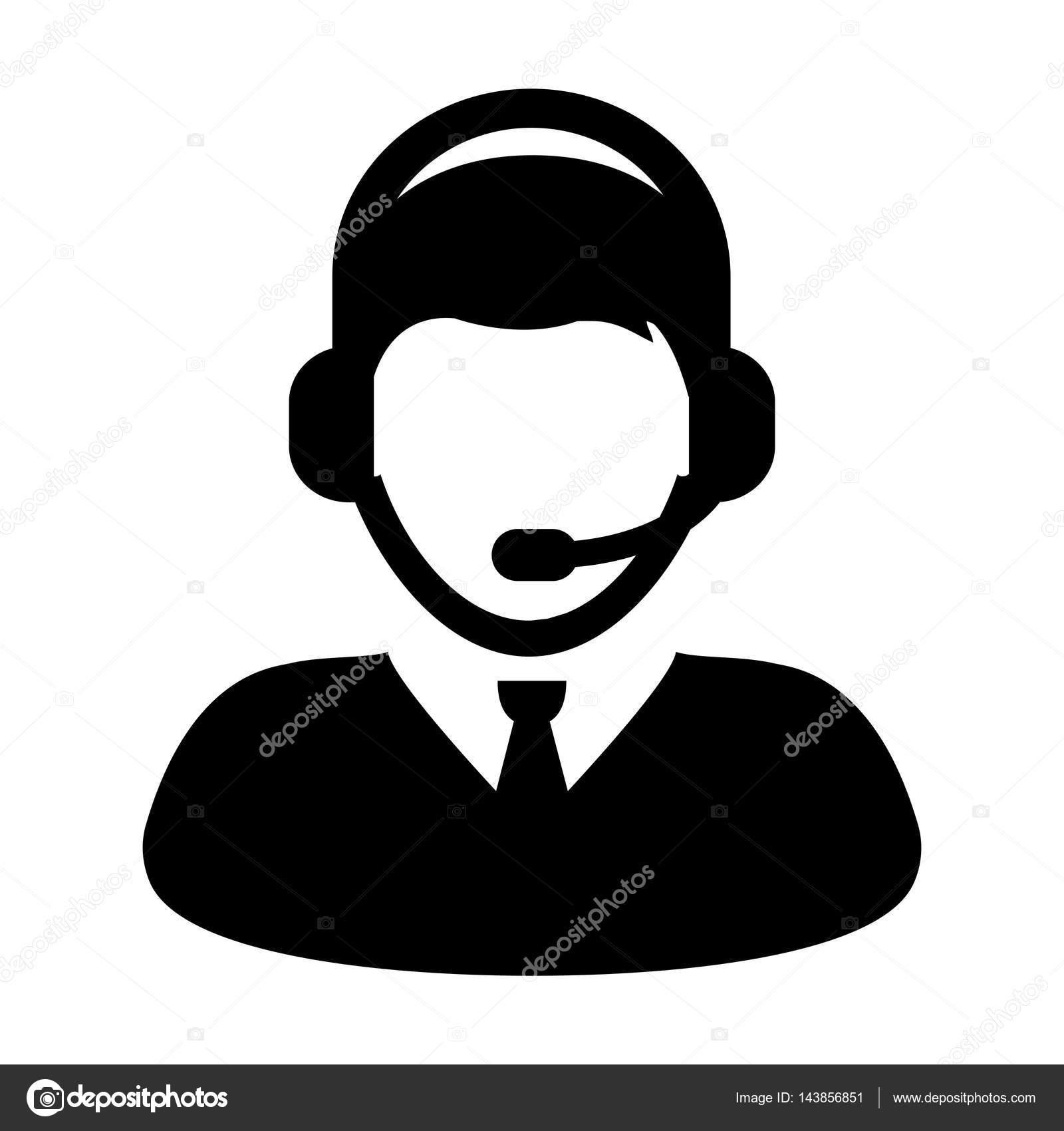 f4b7df17ee920e Klantenservice, Online Support, Help Desk, Bel Vector en hoofdtelefoon  pictogram illustratie — Vector van tuktukdesign