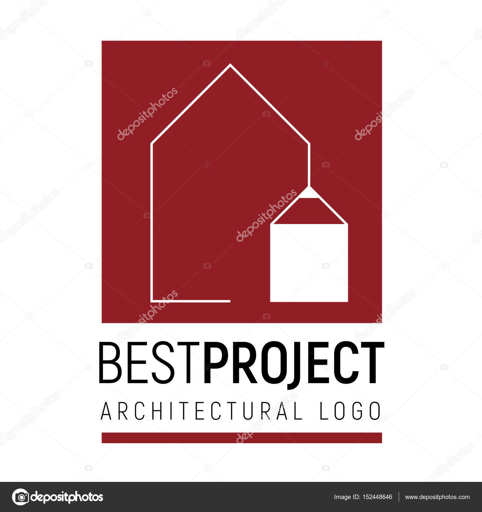 Plantilla de Vector logo de arquitectura — Archivo Imágenes ...