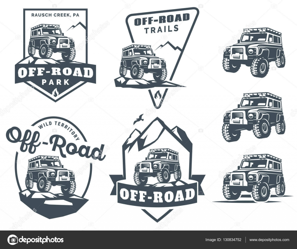 ᐈ Offroad Logos Stock Pictures Royalty Free Offroad Illustrations Download On Depositphotos