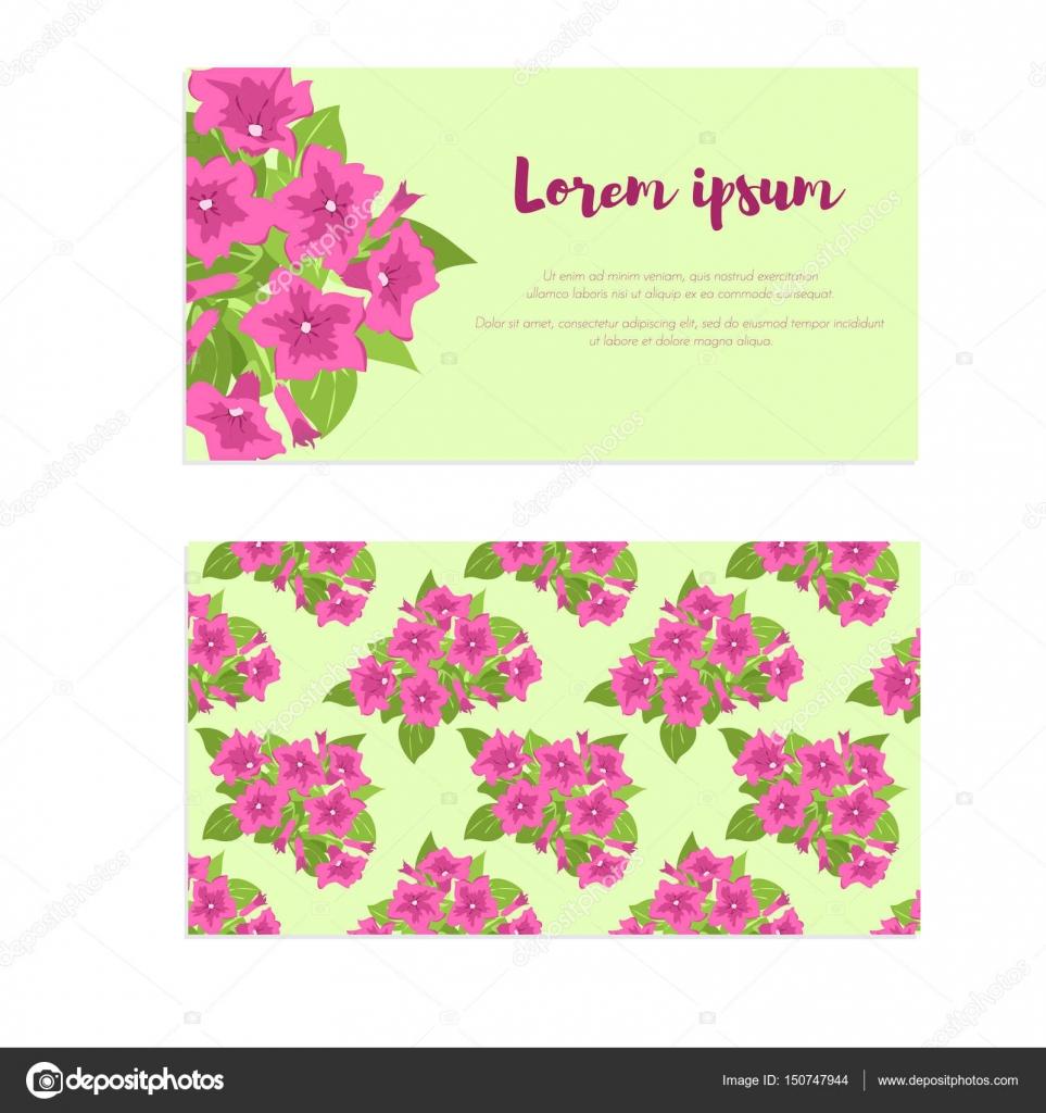 Rosa Vintage Blumen Im Rahmen Mit Zeichen Fur Hochzeitseinladung