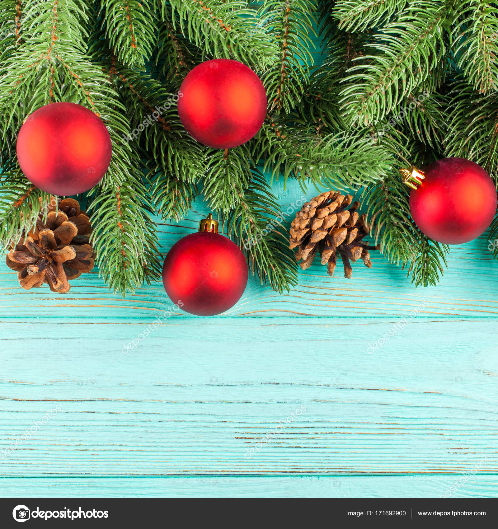 Christmas Banner With Green Tree Red And White Handmade Felt Decorations On White Wooden Textured Background Stock Photo Image By C Rojdesign 171692900