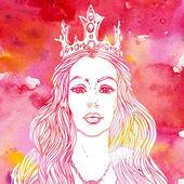 Fényképek Queen akvarell háttér