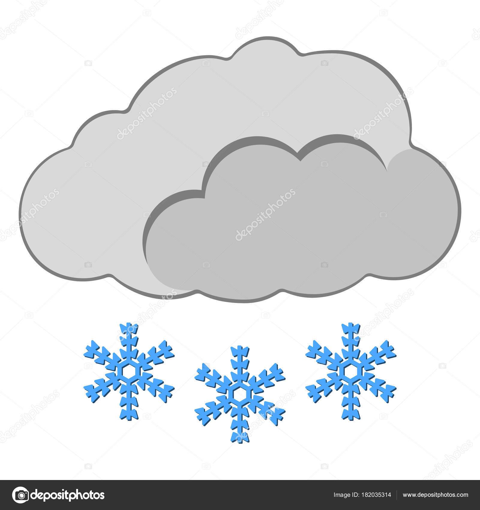 show com ícone de nuvem rótulo de tempo para web sobre fundo branco