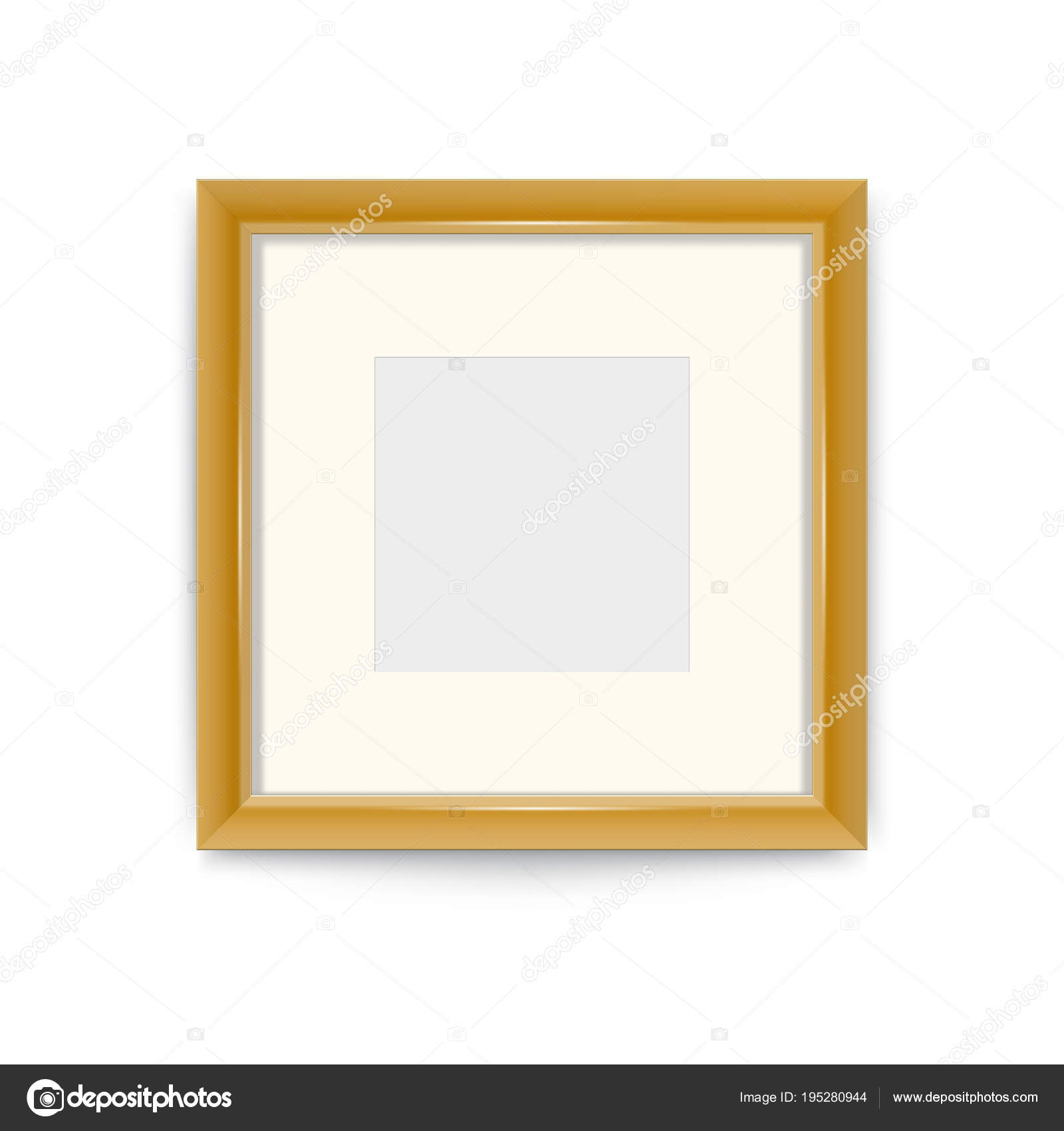 Gold photo frame. Easily change the size of the frame. Its easy to ...