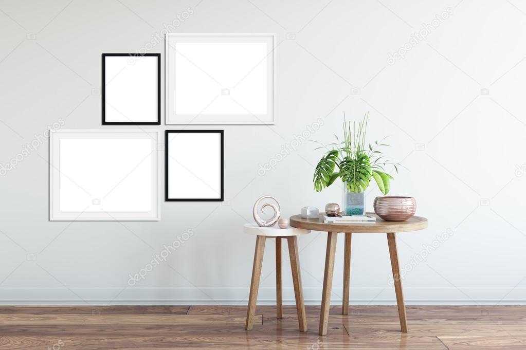 Frame-Mock-up, Poster Mock-up, Produkt-Mockups, Leinwand Mockup ...
