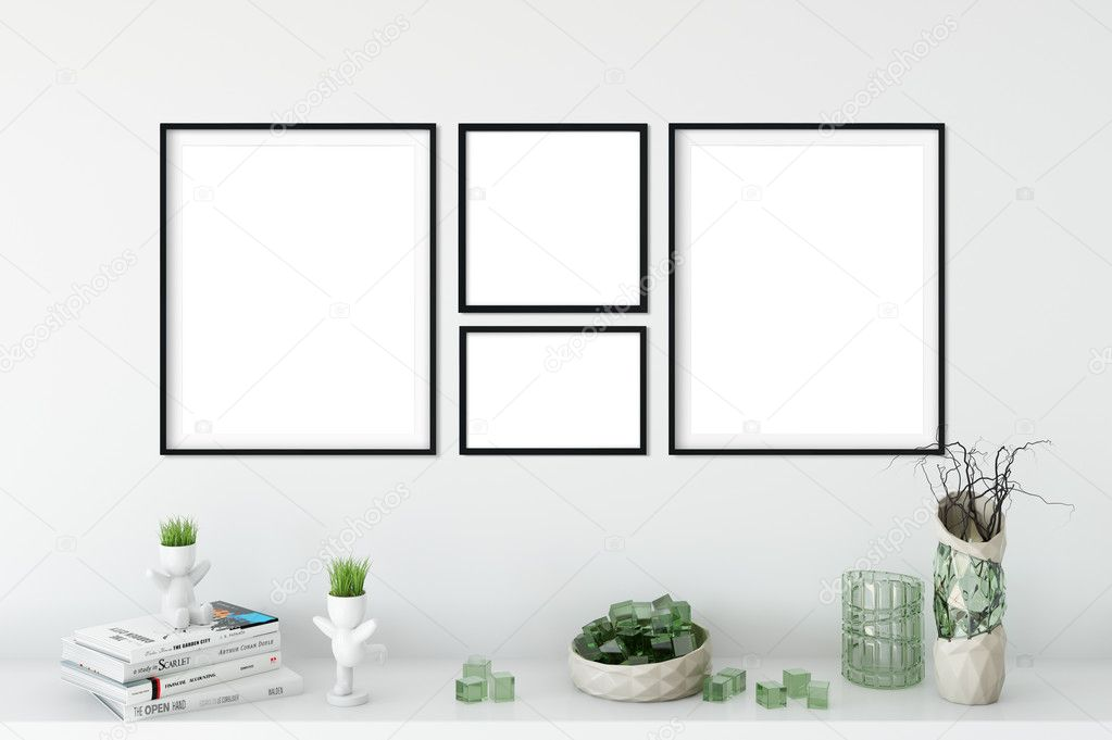Frame Mockup Poster Mock Up Product Mockups Canvas