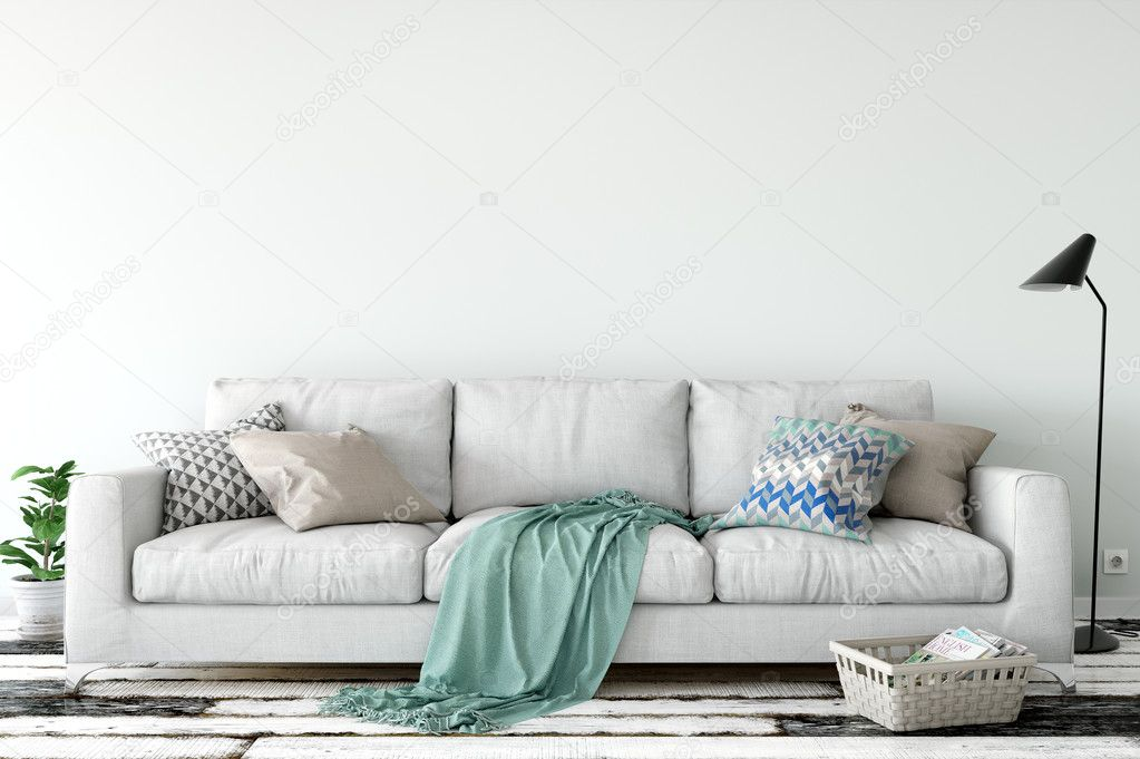 Creative Market Living Room Artwork Mockup
