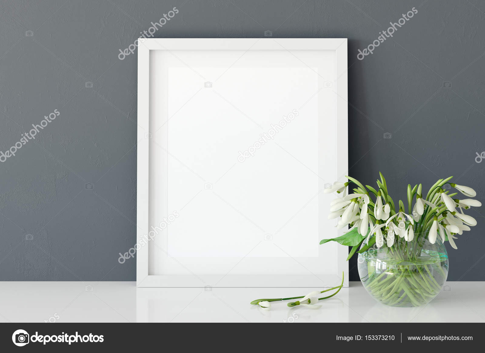 Posters In Interieur : Mock up poster im wohnzimmer interieur u stockfoto yuri u