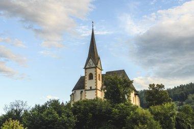 Saints Primus and Felician Church in Maria Worth, Carinthia, Aus