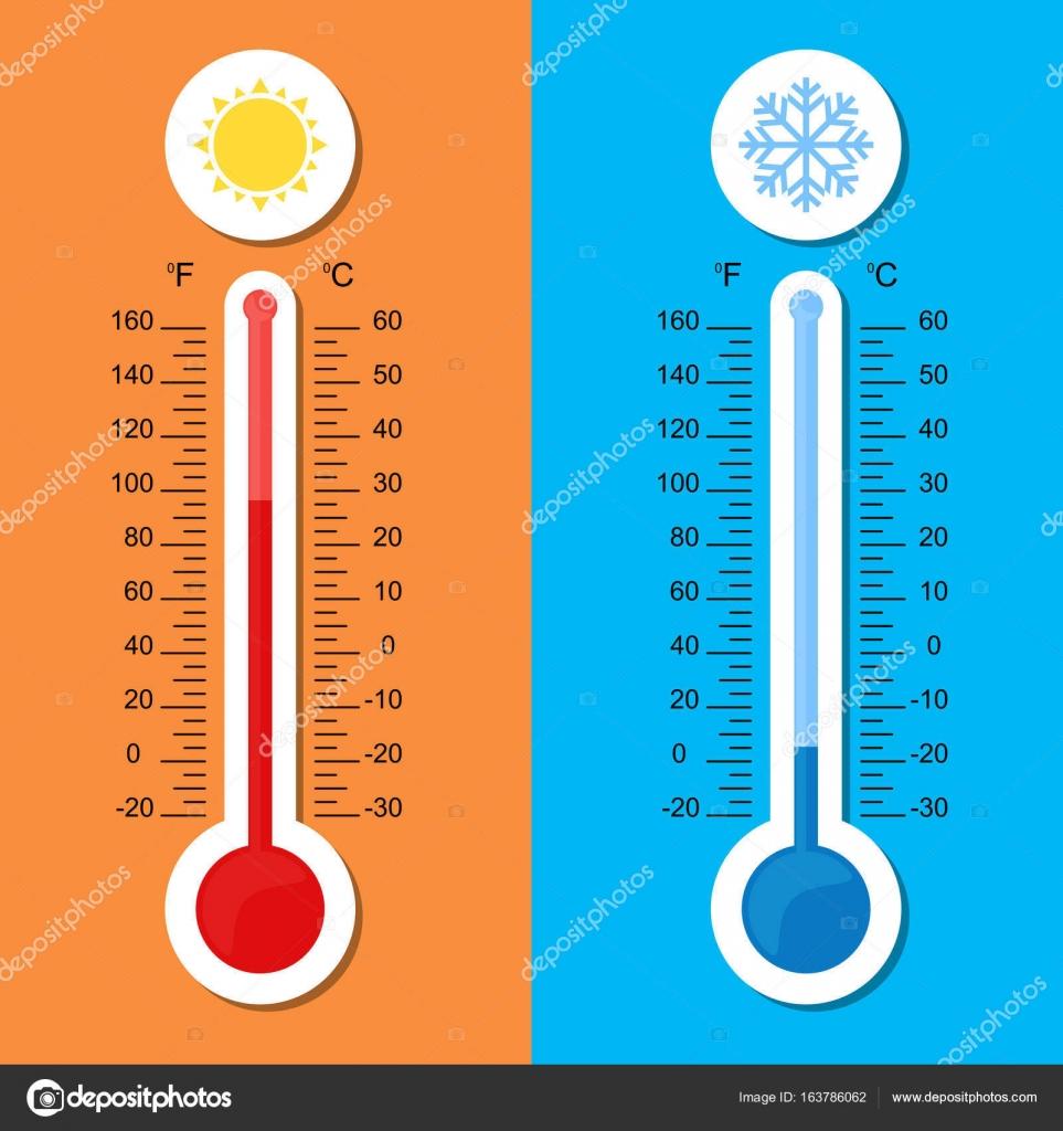 Thermometer Icon Vector Celsius And Fahrenheit Measuring Hot And Cold Temperature Stock Vector C Spyrakot 163786062 En el vídeo os explico cómo conseguir una fórmula a través de la otra y así no tener que recordar ambas fórmulas. https depositphotos com 163786062 stock illustration thermometer icon vector celsius and html