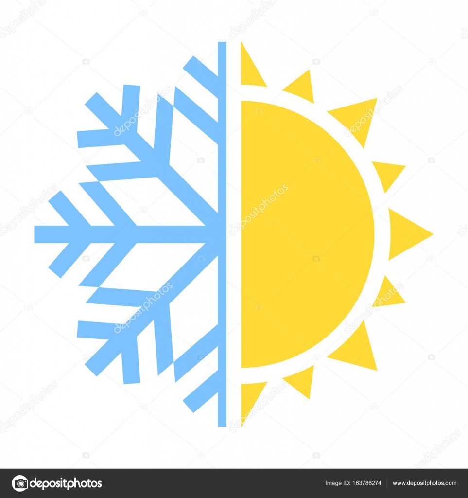 winter and summer icon vector illustration stock vector c spyrakot 163786274 https depositphotos com 163786274 stock illustration winter and summer icon vector html