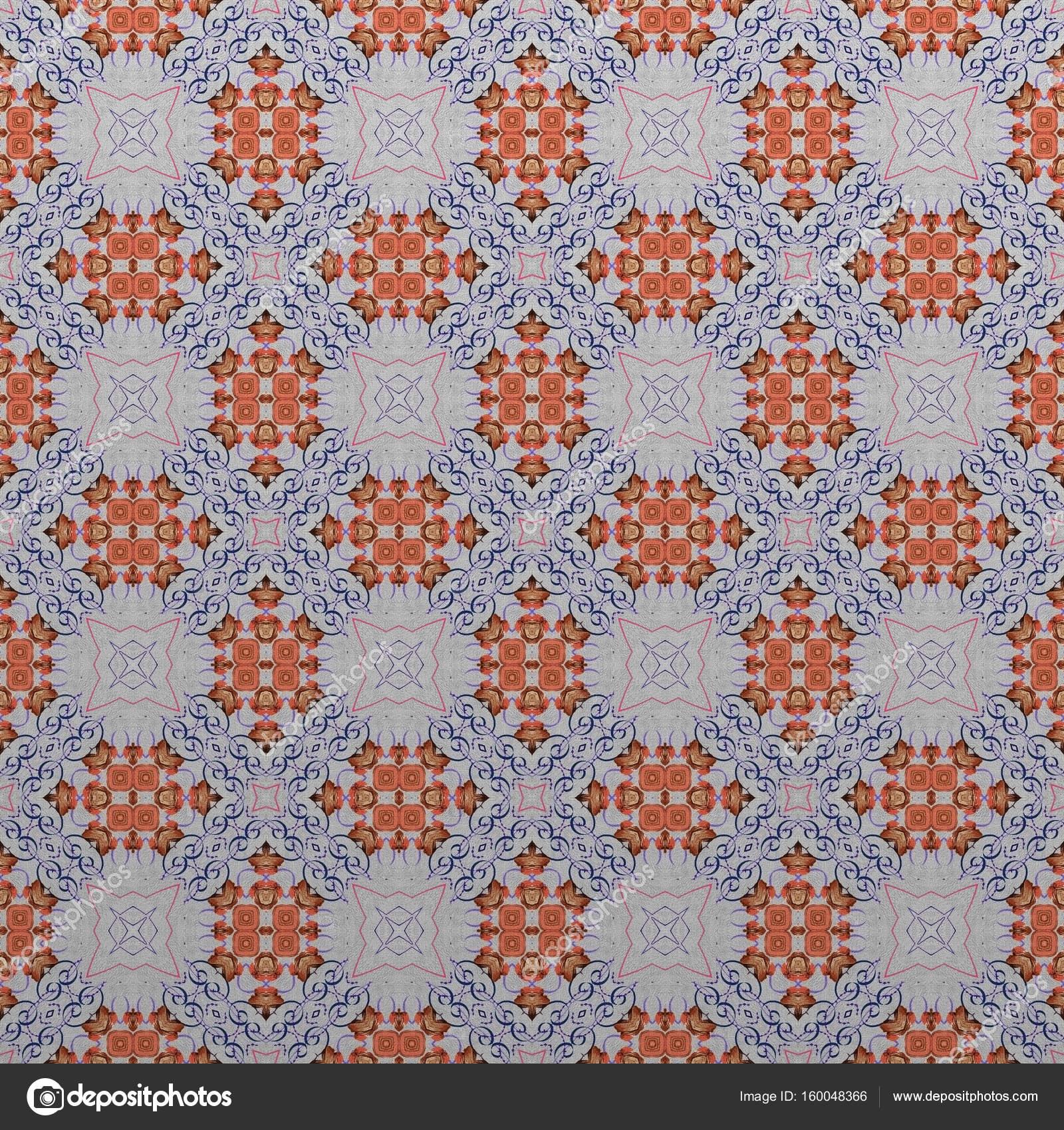 Nahtlose abstrakte Farbe Muster Ornament traditionelle klassische ...