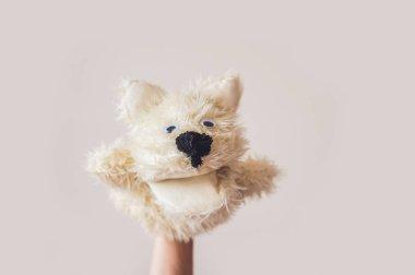 Puppet show dog