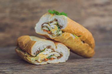 Vietnamese Bahn Mi sandwiches