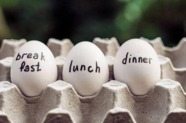 mono-diet, egg diet, breakfast lunch dinner