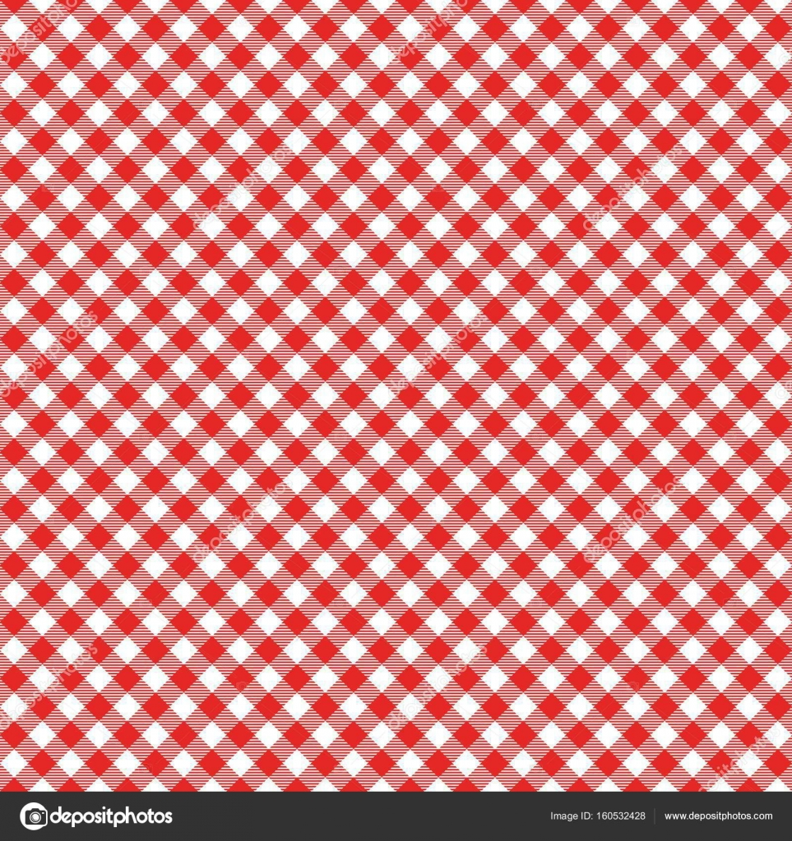 Red Italian Tablecloth. Picnic Tale Cl U2014 Stock Vector #160532428