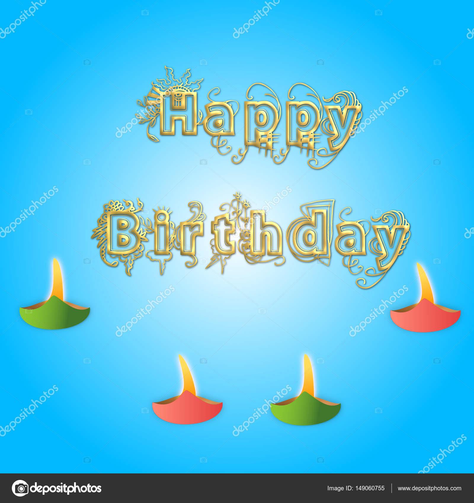 Happy Birthday Greetings Stock Photo Dipalipix 149060755