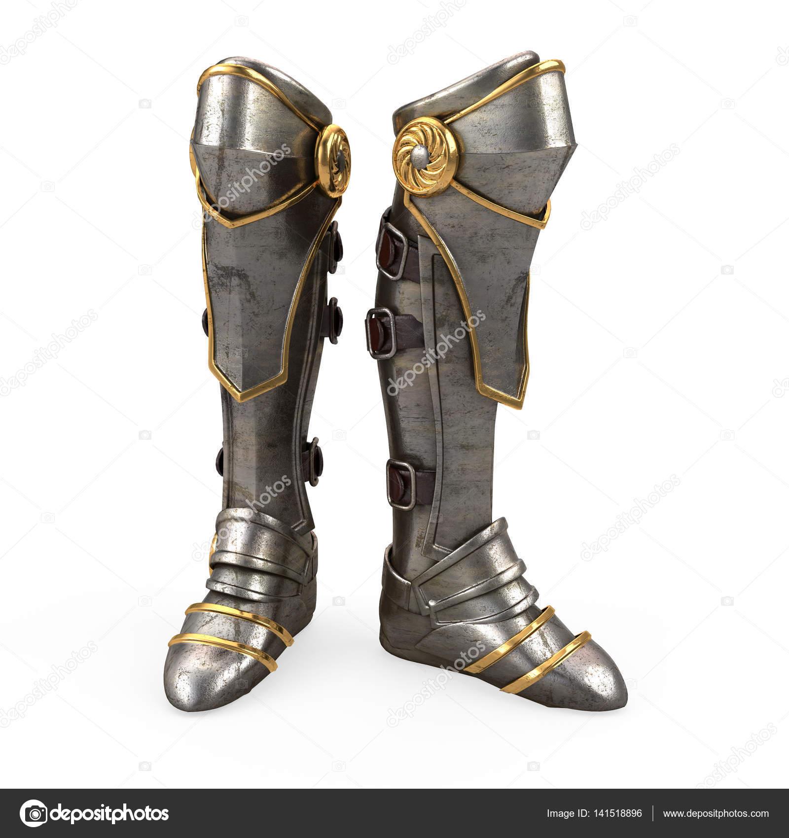 Eviter que le passager colle ses talons sur le pot echappe Depositphotos_141518896-stock-photo-iron-fantasy-high-boots-knight