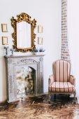 Fotografie Vintage Interieur im Boho-Stil