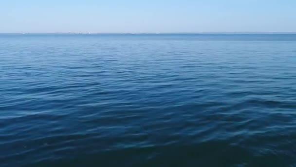 Klidné Černé moře. Kerchi. Krym