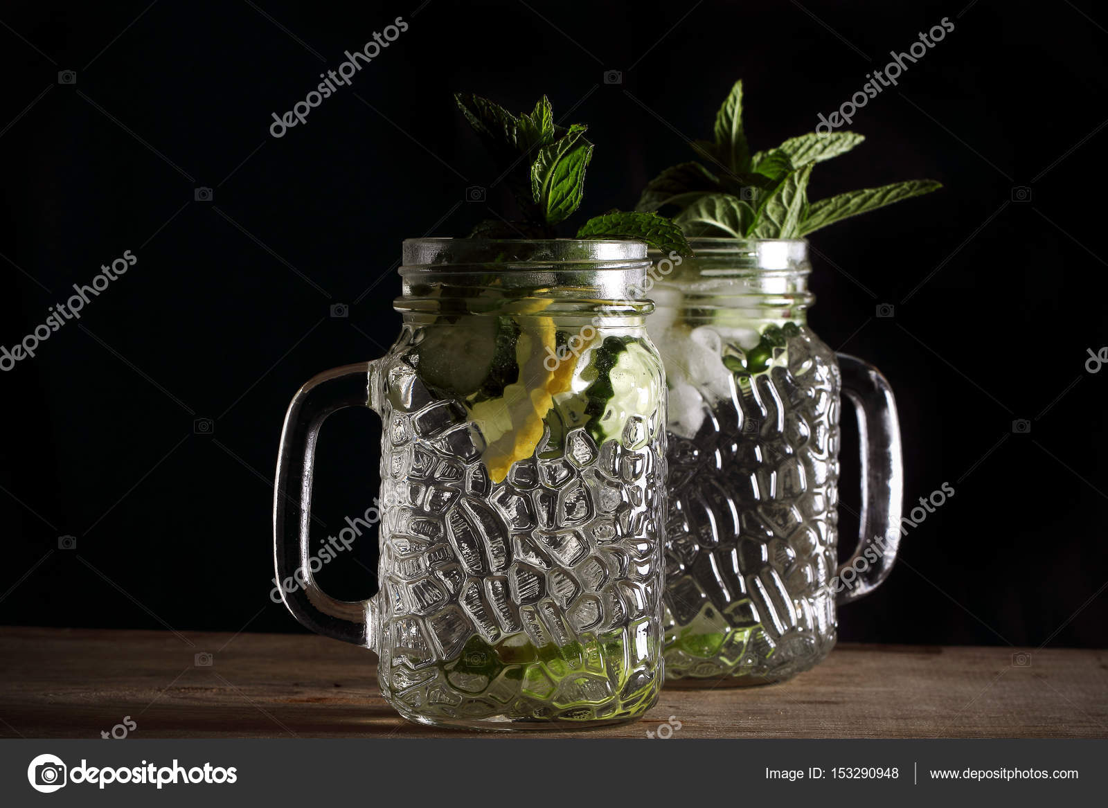 Bebida adelgazante con limon