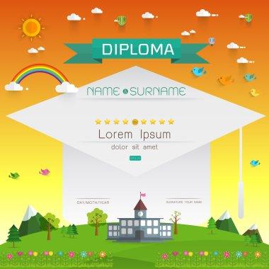 Certificate kids diploma