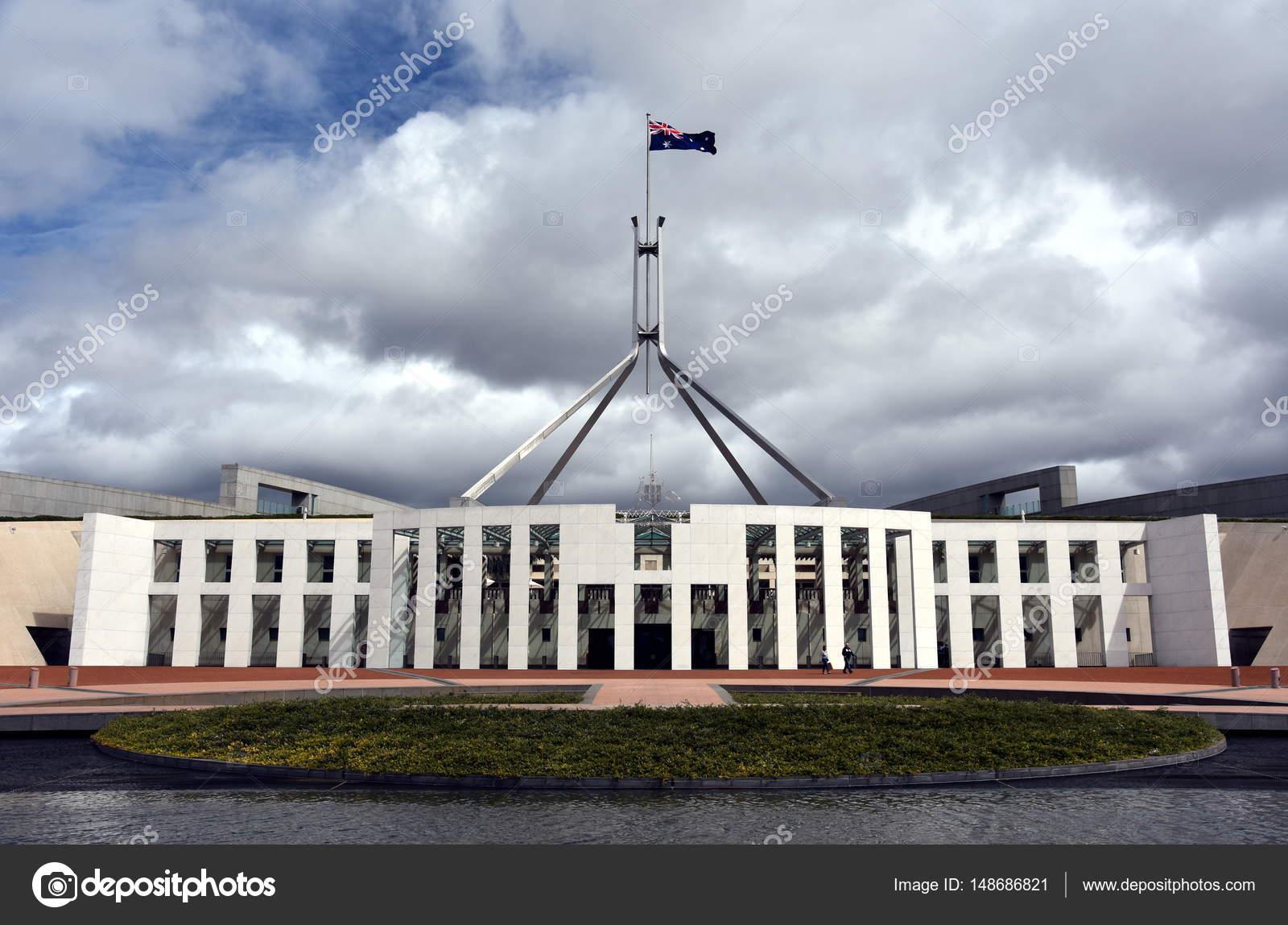 Australia's landmark Parliament House – Stock Editorial