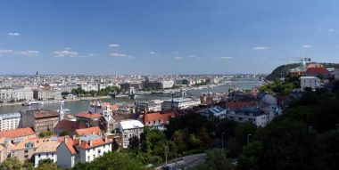 City of Budapest view