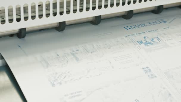 industrial printing of posters - print production, typography