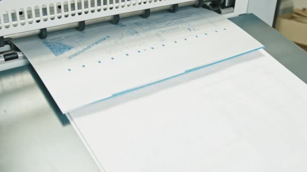 industrial printing of posters - print production, typography, cmyk