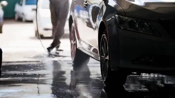 Profesionální mytí v auto služby