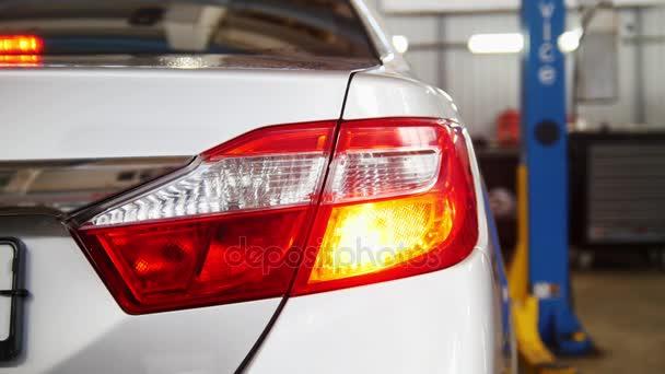 Podsvícení auto auto Workshop - kontrola a oprava
