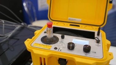 Industrial equipment on technology exhibition - the shaker calibration explosion proof portable