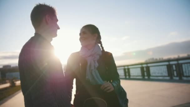 beautiful happy person love girl young