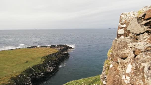 Skotské rockové krajina, Isle of Skye, Skotsko, Velká Británie