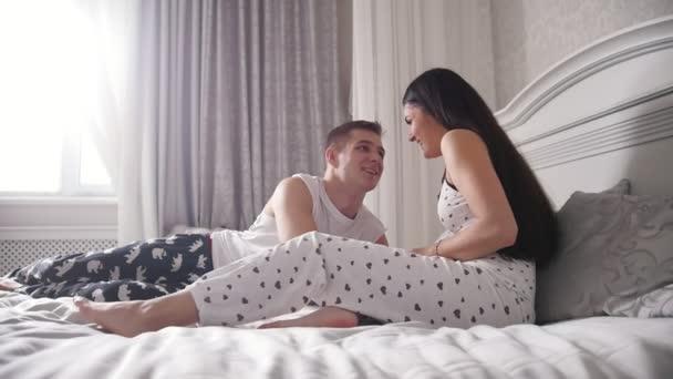 Видео пары в постели — 1