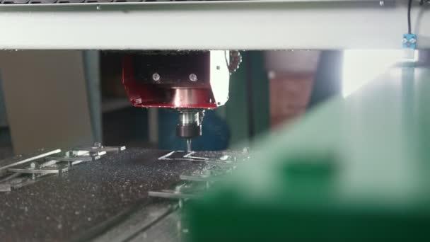 CNC milling or drilling machine - slider shot