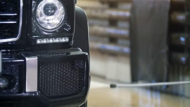 Kocsimosás Suv-a szappanhab által automatikus szolgáltatás - jármű műhely víztömlők