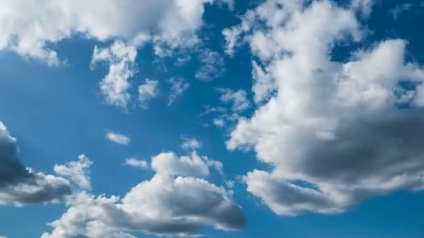 4k ultra HD timelapse of moving clouds and blue sky at day
