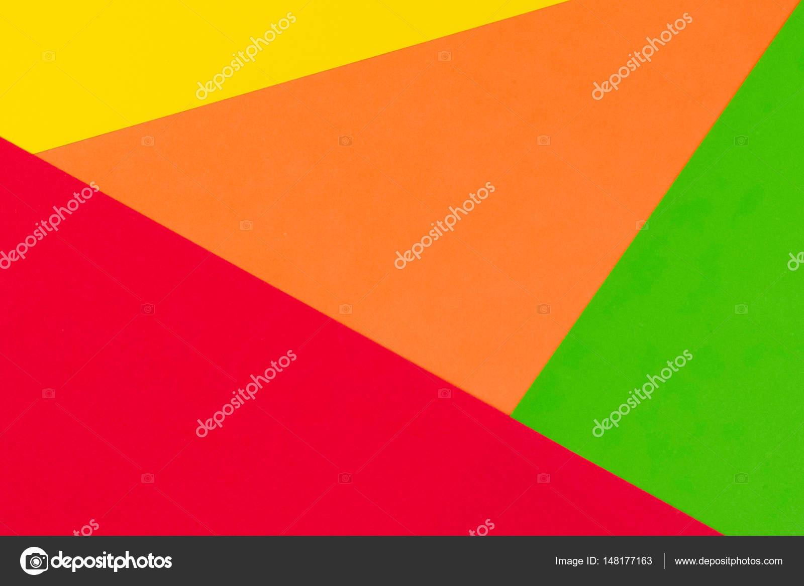 Priorit bassa di carta di colore giallo rosso arancione for Oggetti di colore giallo