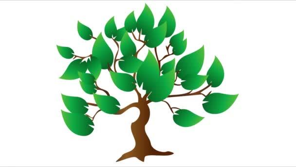Strom, listy, bio, eko, listy v pohybu