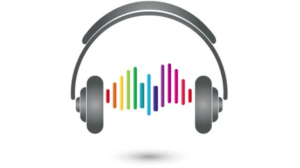 Cuffie, equalizzatore, musica, suono, video