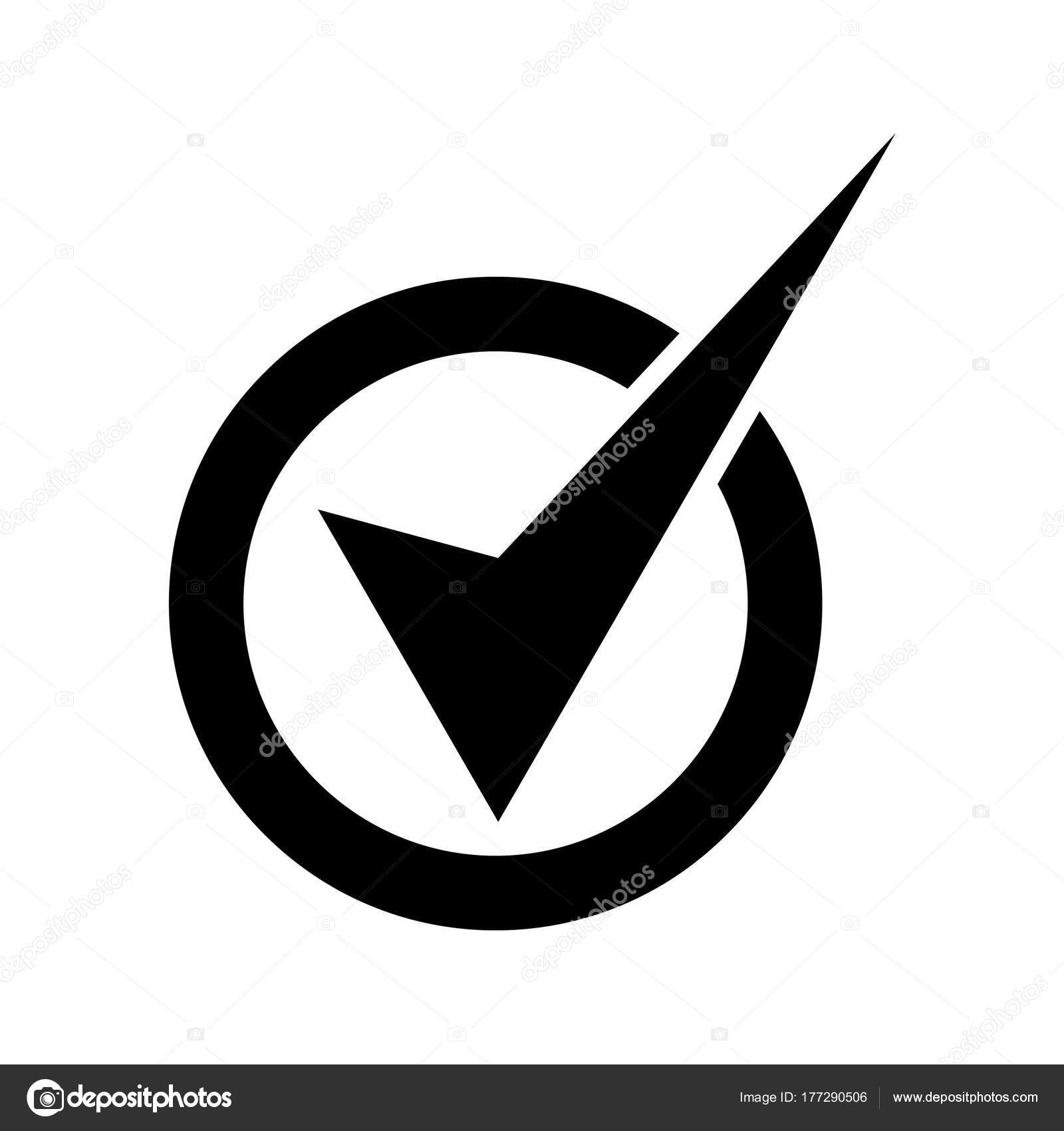 Tick vector icon black check mark icon tick symbol black stock tick vector icon black check mark icon tick symbol in black color vector illustration vector by irysha279ail biocorpaavc Image collections