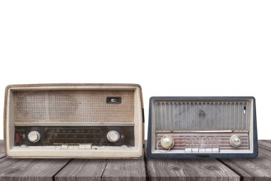 Two old radio