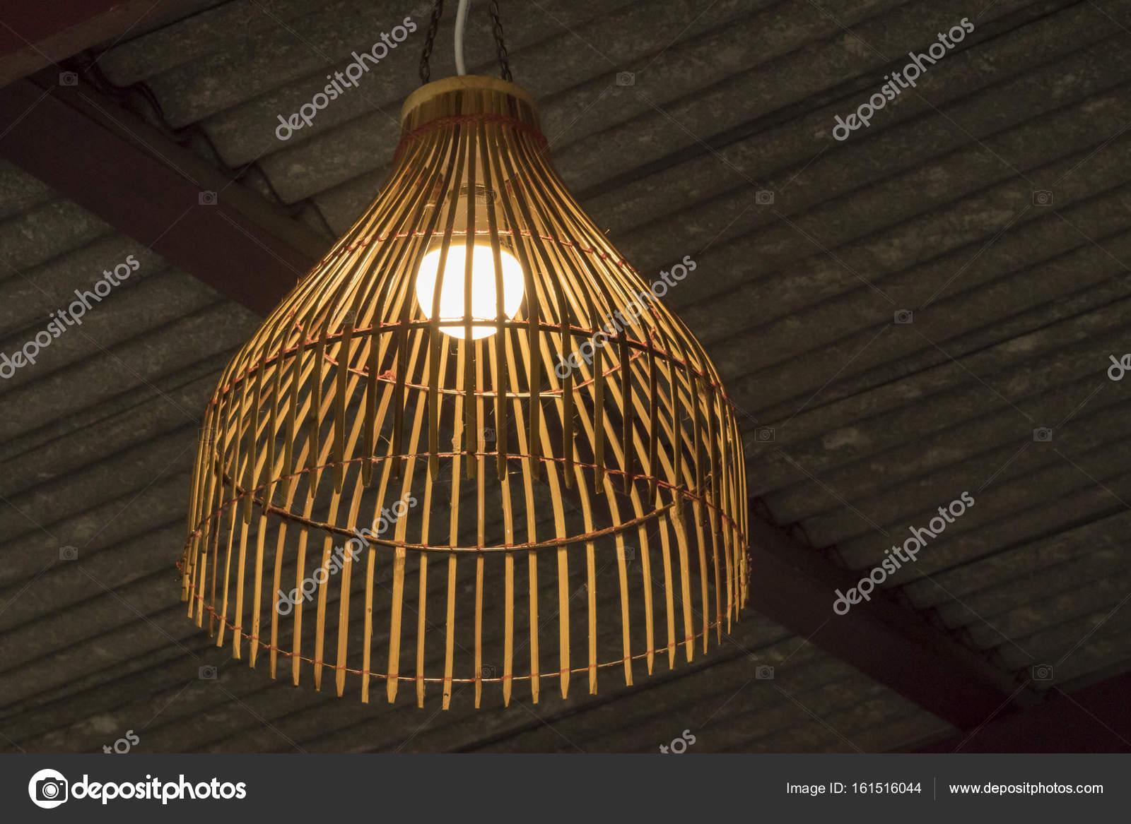 Bambus Lampe Hautnah Stockfoto C Gobba 161516044