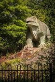 Tyrannus saurus rex dinosaur sculpture stock photo pilens dinosaur sculpture in a park thecheapjerseys Image collections