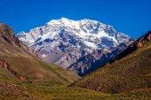Fotografie Majestic peak of Aconcagua