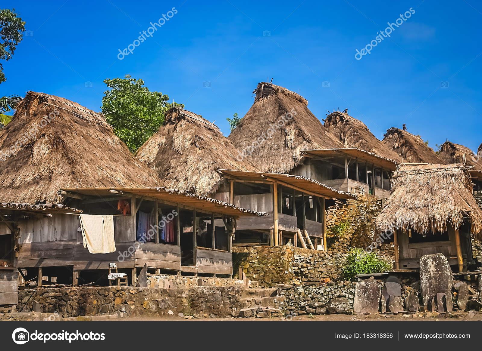 Bena Village In Flores Stock Photo C Pawopa3336 183318356
